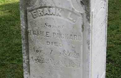 PACKARD, FRANK L. - Medina County, Ohio | FRANK L. PACKARD - Ohio Gravestone Photos