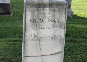 PALMER, GEORGE B. - Medina County, Ohio | GEORGE B. PALMER - Ohio Gravestone Photos