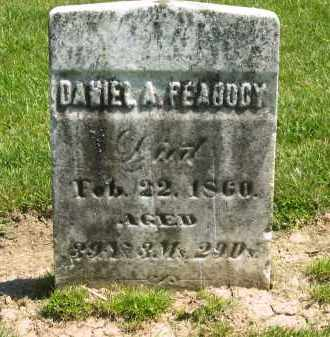 PEABODY, DANIEL A. - Medina County, Ohio | DANIEL A. PEABODY - Ohio Gravestone Photos