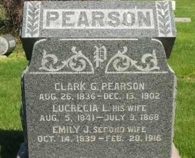 PEARSON, CLARK G. - Medina County, Ohio | CLARK G. PEARSON - Ohio Gravestone Photos