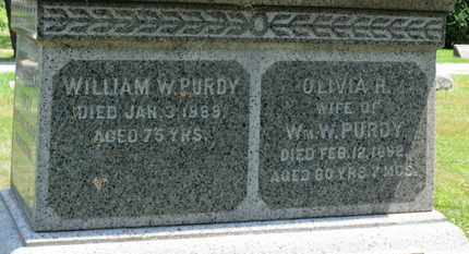 PURDY, WILLIAM W. - Medina County, Ohio | WILLIAM W. PURDY - Ohio Gravestone Photos