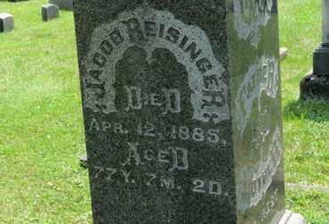 REISINGER, JACOB - Medina County, Ohio | JACOB REISINGER - Ohio Gravestone Photos