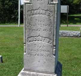 REUSCH, HANNAH E. - Medina County, Ohio | HANNAH E. REUSCH - Ohio Gravestone Photos