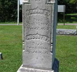 REUSCH, AUGUST F. - Medina County, Ohio | AUGUST F. REUSCH - Ohio Gravestone Photos