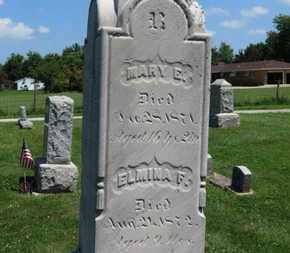 REUSCH, ELMINA F. - Medina County, Ohio | ELMINA F. REUSCH - Ohio Gravestone Photos