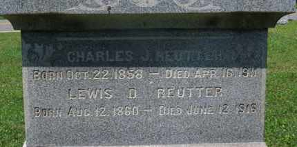 REUTTER, CHARLES J. - Medina County, Ohio | CHARLES J. REUTTER - Ohio Gravestone Photos
