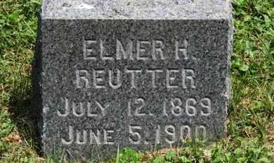 REUTTER, ELMER H. - Medina County, Ohio | ELMER H. REUTTER - Ohio Gravestone Photos