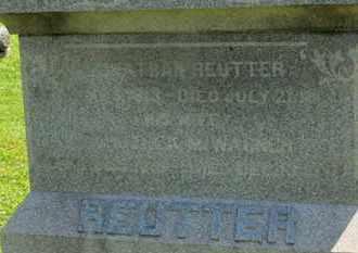 REUTTER, JONATHAN - Medina County, Ohio | JONATHAN REUTTER - Ohio Gravestone Photos
