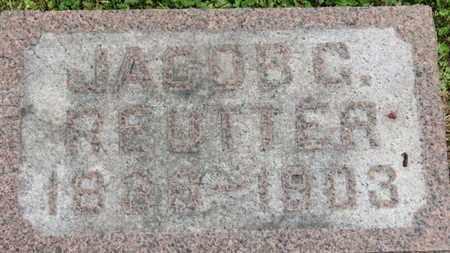 REUTTER, JACOB C. - Medina County, Ohio | JACOB C. REUTTER - Ohio Gravestone Photos