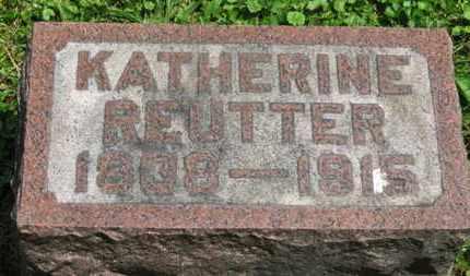 REUTTER, KATHERINE - Medina County, Ohio | KATHERINE REUTTER - Ohio Gravestone Photos