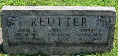 REUTTER, JOHN G. - Medina County, Ohio | JOHN G. REUTTER - Ohio Gravestone Photos