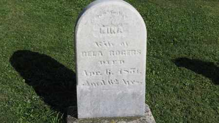 ROGERS, BELA - Medina County, Ohio | BELA ROGERS - Ohio Gravestone Photos
