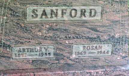 SANFORD, ROSAN - Medina County, Ohio | ROSAN SANFORD - Ohio Gravestone Photos