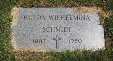 SCHMIDT, HULDA WILHELMINA - Medina County, Ohio | HULDA WILHELMINA SCHMIDT - Ohio Gravestone Photos