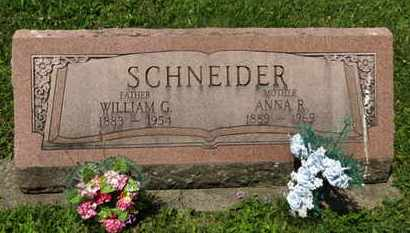 SCHNEIDER, WILLIAM G. - Medina County, Ohio | WILLIAM G. SCHNEIDER - Ohio Gravestone Photos