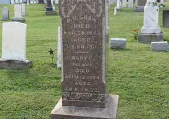 SHAW, MARY P. - Medina County, Ohio | MARY P. SHAW - Ohio Gravestone Photos