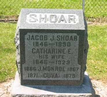 SHOAR, CATHARINE E. - Medina County, Ohio | CATHARINE E. SHOAR - Ohio Gravestone Photos