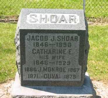 SHOAR, J. MONROE - Medina County, Ohio | J. MONROE SHOAR - Ohio Gravestone Photos