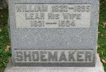 SHOEMAKER, WILLIAM - Medina County, Ohio | WILLIAM SHOEMAKER - Ohio Gravestone Photos