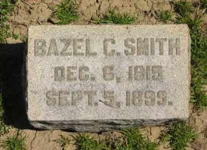 SMITH, BAZEL C. - Medina County, Ohio   BAZEL C. SMITH - Ohio Gravestone Photos