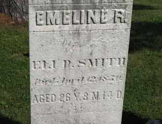 SMITH, EMELINE R. - Medina County, Ohio | EMELINE R. SMITH - Ohio Gravestone Photos
