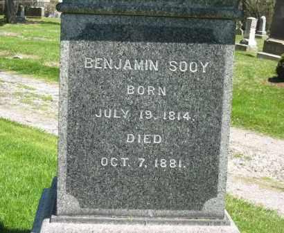SOOY, BENJAMIN - Medina County, Ohio | BENJAMIN SOOY - Ohio Gravestone Photos