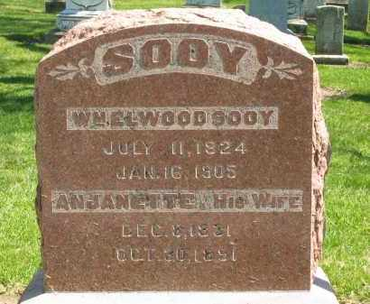SOOY, WM ELWOOD - Medina County, Ohio | WM ELWOOD SOOY - Ohio Gravestone Photos
