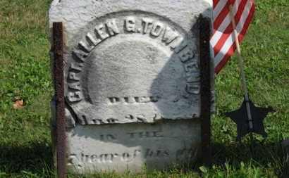 TOWNSEND, ALLEN G. - Medina County, Ohio | ALLEN G. TOWNSEND - Ohio Gravestone Photos