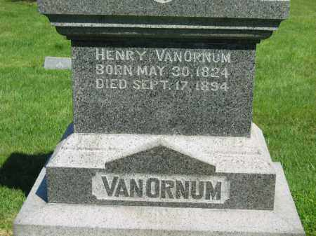 VANORNUM, HENRY - Medina County, Ohio | HENRY VANORNUM - Ohio Gravestone Photos