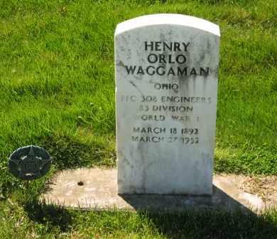 WAGGAMAN, HENRY ORLO - Medina County, Ohio | HENRY ORLO WAGGAMAN - Ohio Gravestone Photos