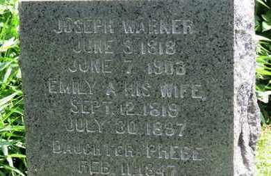 WARNER, EMILY A. - Medina County, Ohio | EMILY A. WARNER - Ohio Gravestone Photos