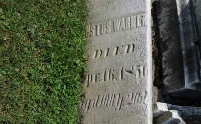 WARNER, JUSTUS - Medina County, Ohio | JUSTUS WARNER - Ohio Gravestone Photos