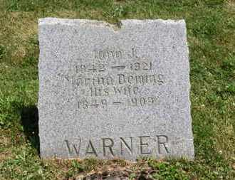 DEMING WARNER, MARTHA - Medina County, Ohio | MARTHA DEMING WARNER - Ohio Gravestone Photos