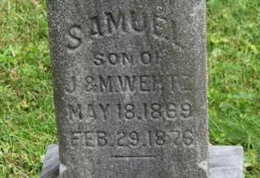 WERTZ, SAMUEL - Medina County, Ohio | SAMUEL WERTZ - Ohio Gravestone Photos