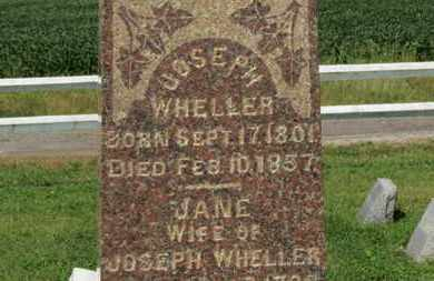 WHELLER, JOSEPH - Medina County, Ohio | JOSEPH WHELLER - Ohio Gravestone Photos