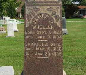 WHELLER, JAMES H. - Medina County, Ohio | JAMES H. WHELLER - Ohio Gravestone Photos
