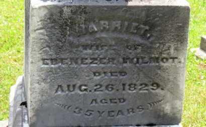 WILMOT, HARRIET - Medina County, Ohio   HARRIET WILMOT - Ohio Gravestone Photos