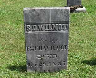 WILMOT, S.D. - Medina County, Ohio | S.D. WILMOT - Ohio Gravestone Photos