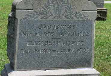 WISE, JACOB - Medina County, Ohio | JACOB WISE - Ohio Gravestone Photos