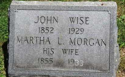 WISE, MARTHA L. - Medina County, Ohio | MARTHA L. WISE - Ohio Gravestone Photos