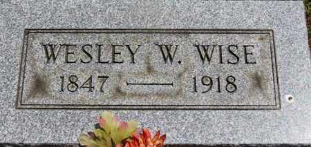 WISE, WESLEY W. - Medina County, Ohio | WESLEY W. WISE - Ohio Gravestone Photos