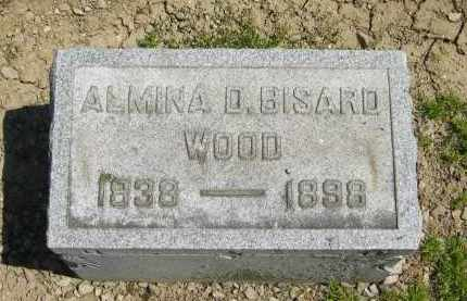BISARD WOOD, ALMINA D. - Medina County, Ohio | ALMINA D. BISARD WOOD - Ohio Gravestone Photos