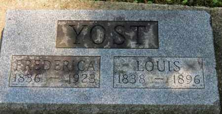 YOST, LOUIS - Medina County, Ohio | LOUIS YOST - Ohio Gravestone Photos