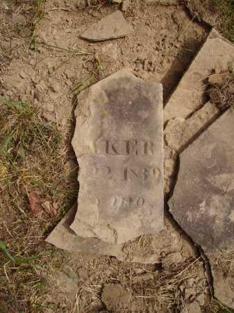 __AKER, UNKNOWN - VIEW 2 - Meigs County, Ohio | UNKNOWN - VIEW 2 __AKER - Ohio Gravestone Photos