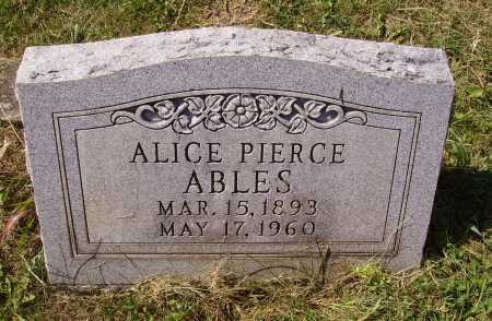 MIGHT PIERCE, ALICE - Meigs County, Ohio | ALICE MIGHT PIERCE - Ohio Gravestone Photos