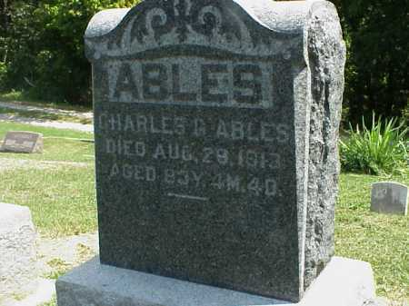 ABLES, CHARLES G. - Meigs County, Ohio | CHARLES G. ABLES - Ohio Gravestone Photos