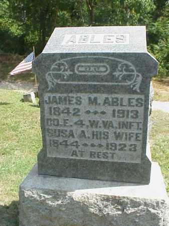 ABLES, JAMES M. - Meigs County, Ohio | JAMES M. ABLES - Ohio Gravestone Photos