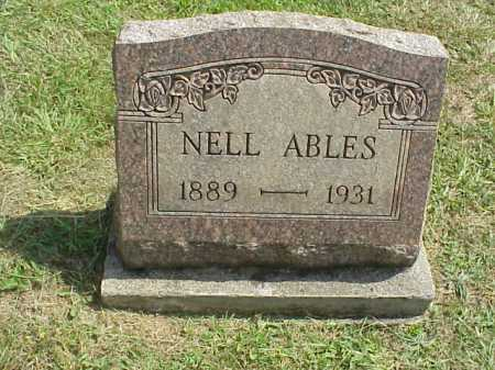 WIGGINS ABLES, NELL - Meigs County, Ohio | NELL WIGGINS ABLES - Ohio Gravestone Photos