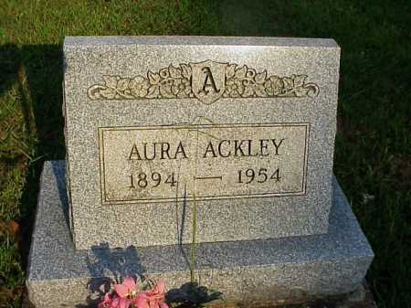 ACKLEY, AURA - Meigs County, Ohio | AURA ACKLEY - Ohio Gravestone Photos