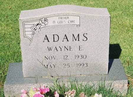 ADAMS, WAYNE E. - Meigs County, Ohio | WAYNE E. ADAMS - Ohio Gravestone Photos